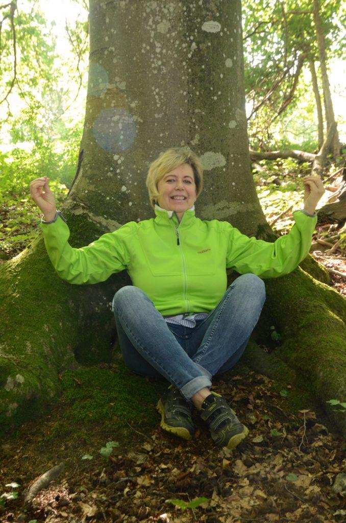 Kontakt mit Waldreichtum: Renate Posch